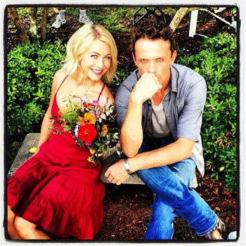 Julianne with David Lyons