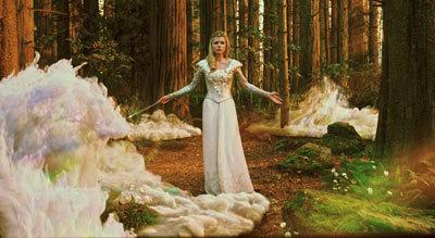 Glinda prepares for magical battle