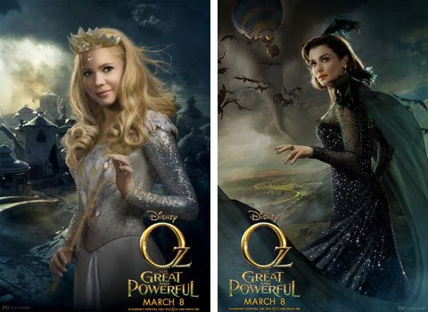 Glinda and Evanora Posters