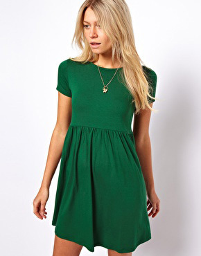 Asos green dress, $37