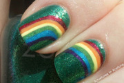 DIY St. Patrick's Day Nail Art