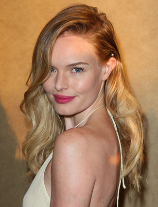 Kate Bosworth's plum perfect lips