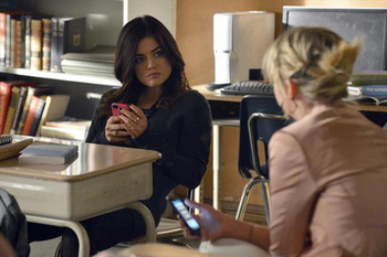 Aria and Ezra are over - for now