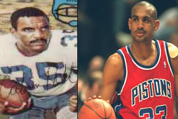Calvin and Grant Hill
