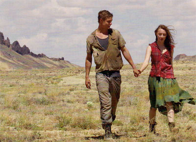 Max as Jared with Saoirse as Melanie