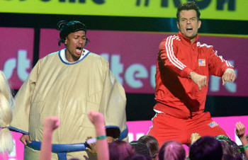 Josh Duhamel and Nick Cannon