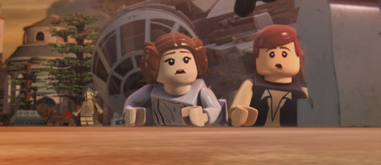LEGO STAR WARS: The Empire Strikes Out Exclusive Clip