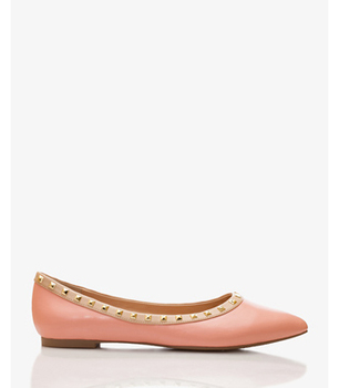 Forever 21 pink flats, $19