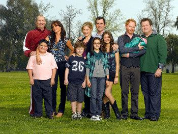 Modern Family is about family life
