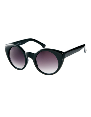 Asos.com cat-eye sunglasses, $20