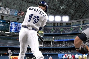 Bautista Makes a Swing