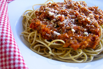 Simple Spaghetti and Meatsauce