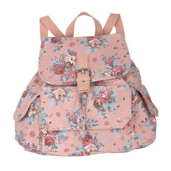 Delia's floral backpack, $29