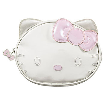 Hello Kitty cosmetic case, $11