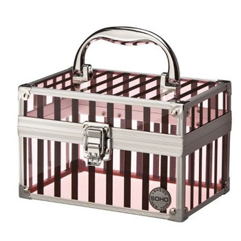 Target clear cosmetic case, $11.99