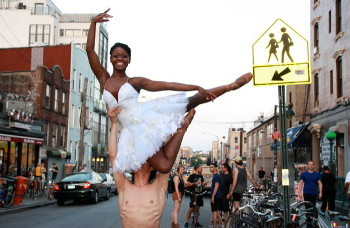 Michaela DePrince is one of the ballet dancers competing to win in First Position