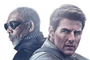 Tom Cruise and Morgan Freeman: Stars of Oblivion