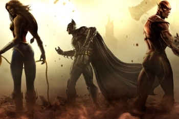 Wonder Woman Batman Flash Injustice