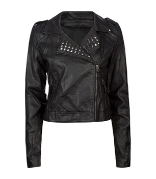Tilly's faux leather jacket, $29