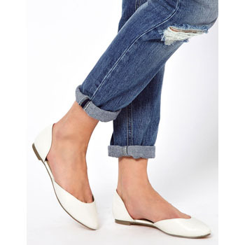 Asos flat shoes, $40