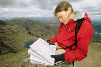 Reading A Mountain Map