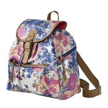 Target floral backpack, $25