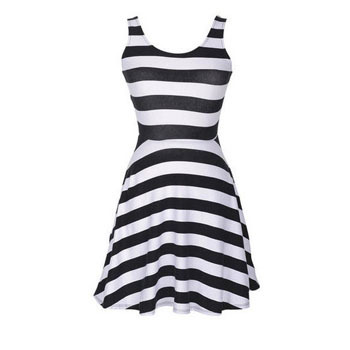 Delia's striped dress, $24.50
