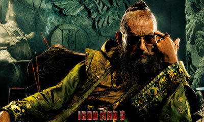 Sir Ben Kingsley as The Mandarin