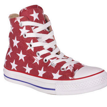 Delia's star print high-tops, $55