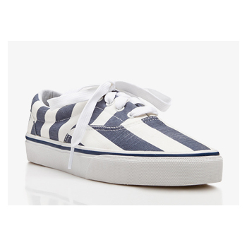 Forever 21 striped sneakers, $17
