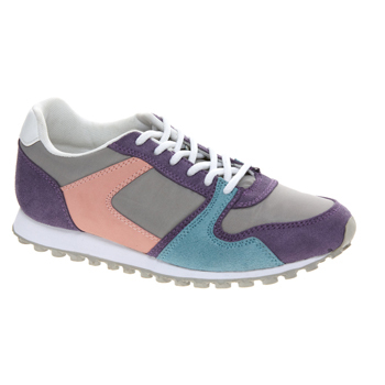 Asos multi-color sneakers, $45