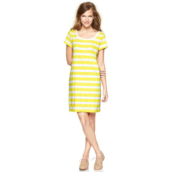 Gap striped dress, $54