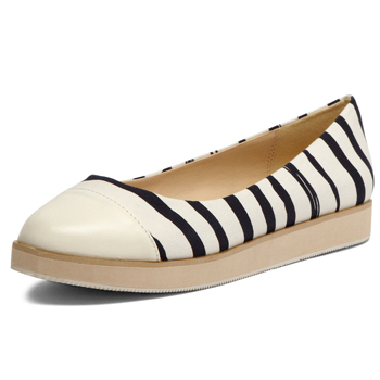 Dorothy Perkins stripe flats, $40