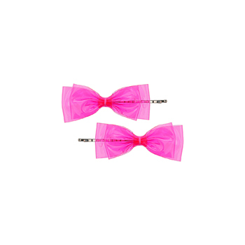 Topshop bow hair clips, $8