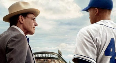 Harrison Ford as Branch Rickey
