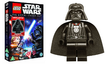 LEGO STAR WARS: The Empire Strikes Out come with a Darth Vader figurine
