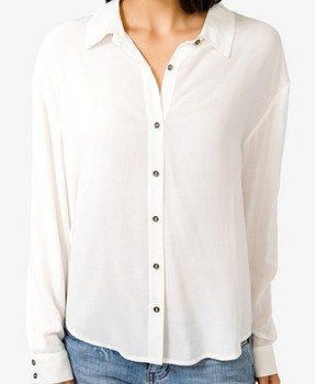 Forever 21 white blouse, $17