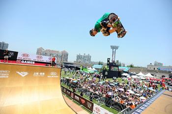 2013 X Games' Skateboarders