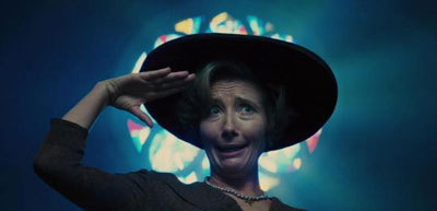 Emma Thompson as evil Mrs. Lincoln