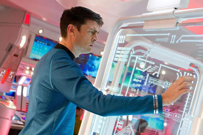 Karl Urban as Bones McCoy