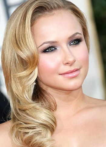 Hayden Panettiere's red carpet look is perfect for prom