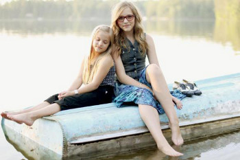 The parents of this folksy sister duo are also a musical duo!