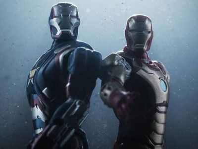 Iron Patriot with Iron Man