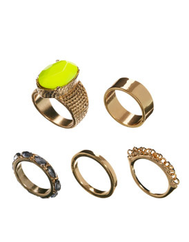 Asos rings, $20