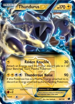 Thunderus EX Plasma Freeze