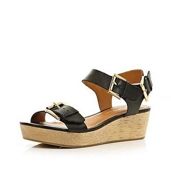 River Island wedges, $79