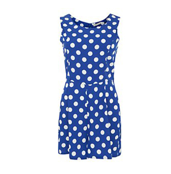 New Look polka dot playsuit, $42