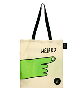 Lazy Oaf tote, $16