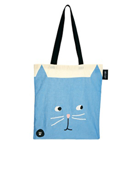 Lazy Oaf cat tote, $16