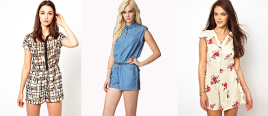 Feature playsuits feature